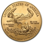 2002 1/2 oz Gold American Eagle - Brilliant Uncirculated